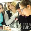 Estudiantes de 5° año de la ORT volvieron a visitar nuestra institución