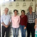 La presidenta de FADEPOF visitó el Instituto Leloir