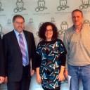 Representantes de la Embajada Británica visitan el Instituto Leloir