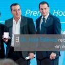 El doctor José Estévez recibió el Premio Houssay en el Museo Casa Rosada