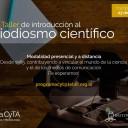 Se encuentra abierta la inscripción a los cursos-taller de introducción al periodismo científico 2018
