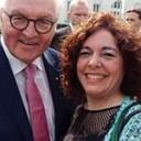 La Dra. Vanesa Gottifredi asistió al encuentro anual de la Fundación Alexander von Humboldt que contó con la presencia del Presidente de Alemania
