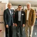 La empresa Bruker organizó una reunión de usuarios en el marco del IV Taller de Resonancia Magnética realizado en el Instituto Leloir
