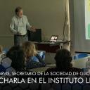 El doctor Donald Jarvis, secretario de la Sociedad de Glicobiología, dio una charla en el Instituto Leloir