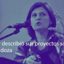 Científica del Leloir describió sus proyectos sobre Alzheimer en la Legislatura de Mendoza