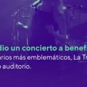 Marcela Morelo dio un concierto a beneficio del Instituto Leloir
