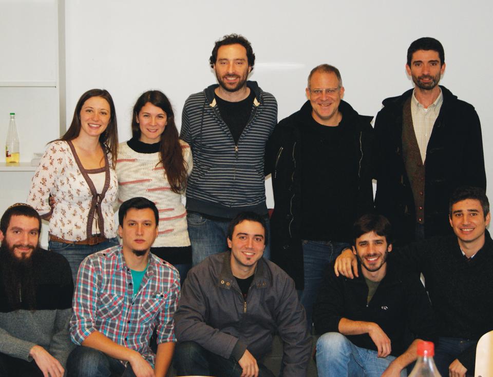 El Dr. Marcelo Yanovsky y su equipo.