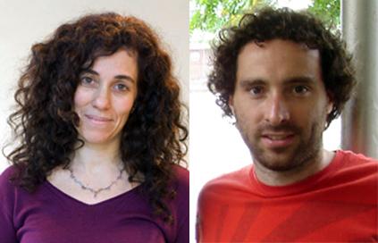 La Dra. Fernanda Ceriani y el Dr. Esteban Beckwith, autores de la investigación.