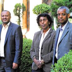 Delegación etíope visitio la Fundacion Leloir