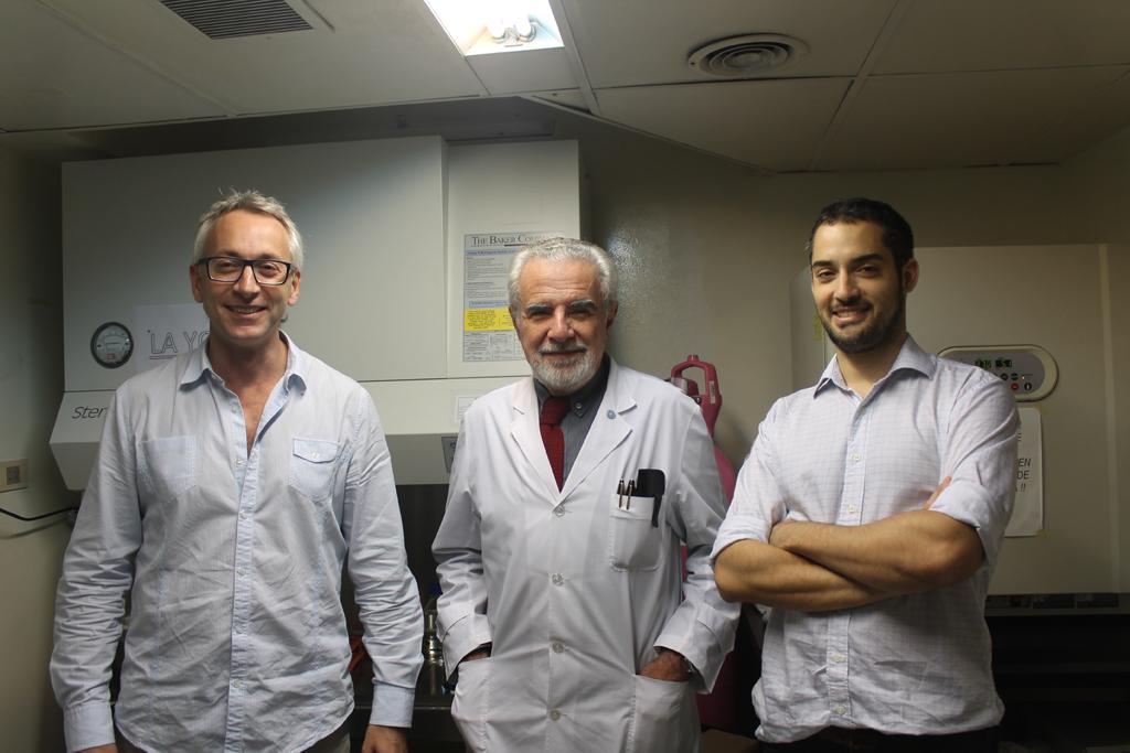 Fundacion Leloir - Autores del trabajo Cancer de colon