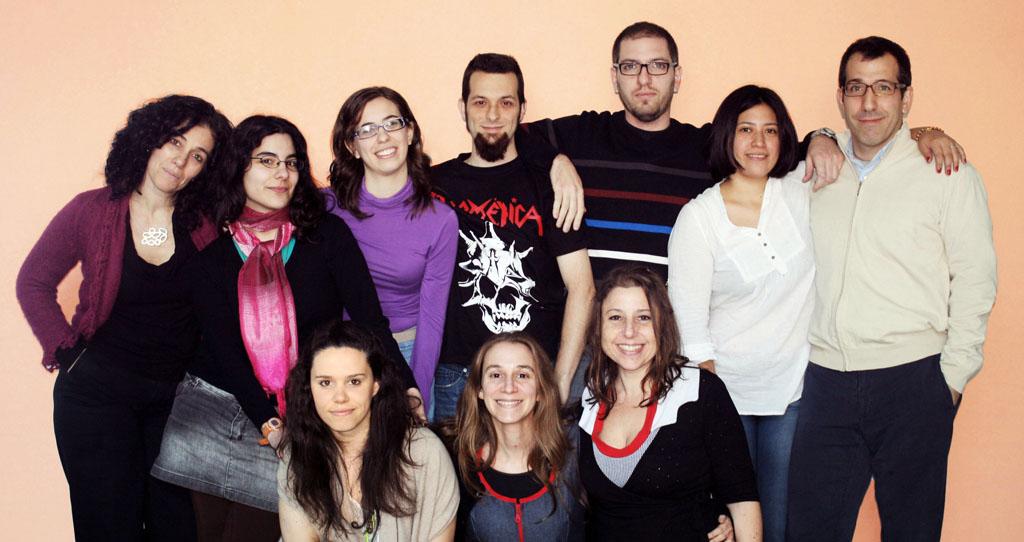Foto del grupo de la Dra. Fernanda Ceriani