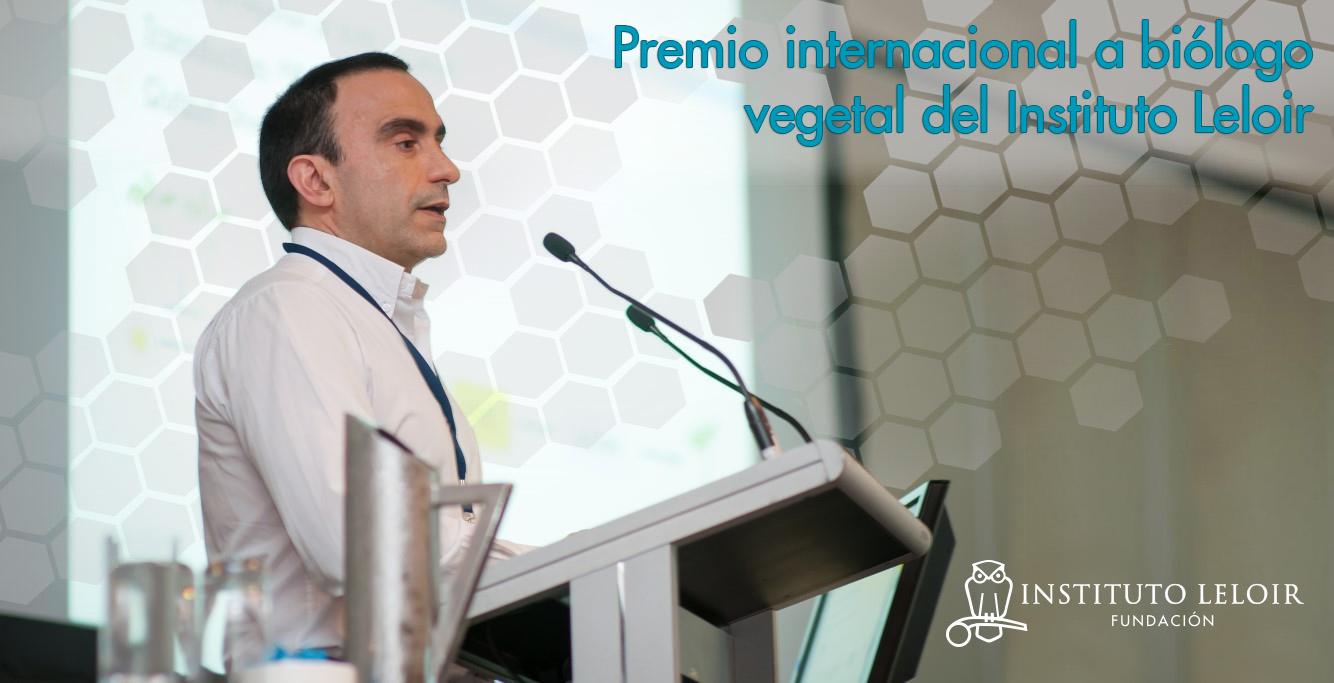 Jorge Casal - Premio internacional - Fundación Leloir