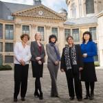 Las cinco laureadas en la Academia de las Ciencias