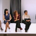 Las cinco mujeres premiadas