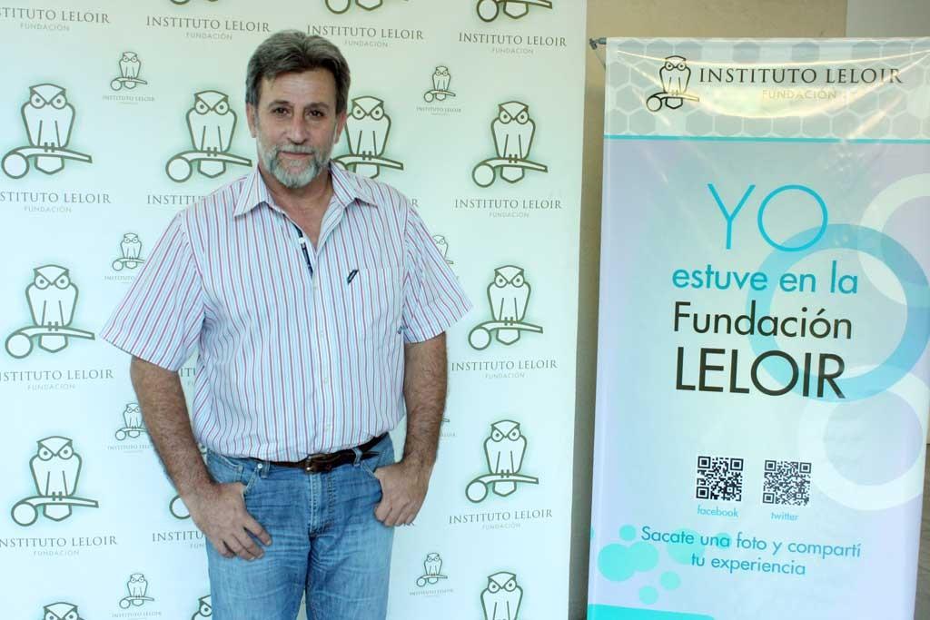 Dr. Hugo Lujan en el Seminario Cardini de la Fundación Leloir