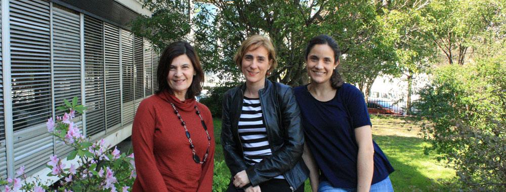 Dra. Laura Morelli, Dra. María Carolina Dalmasso  y la economista Paula Prados