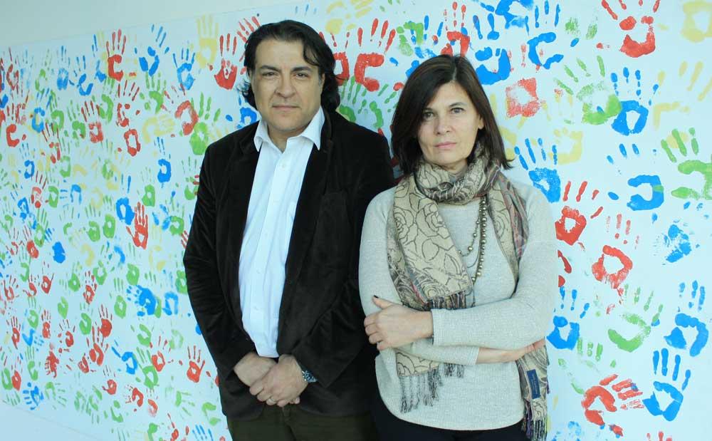 Dra. Laura Morelli y el Dr. Luis Brusco