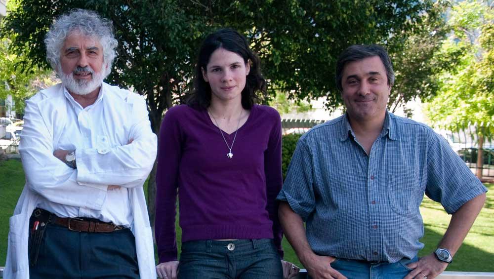 Dr. Luis Quesada Allué, Dra. Luciana Pujol-Lereis y Dr. Alejandro Rabossi.