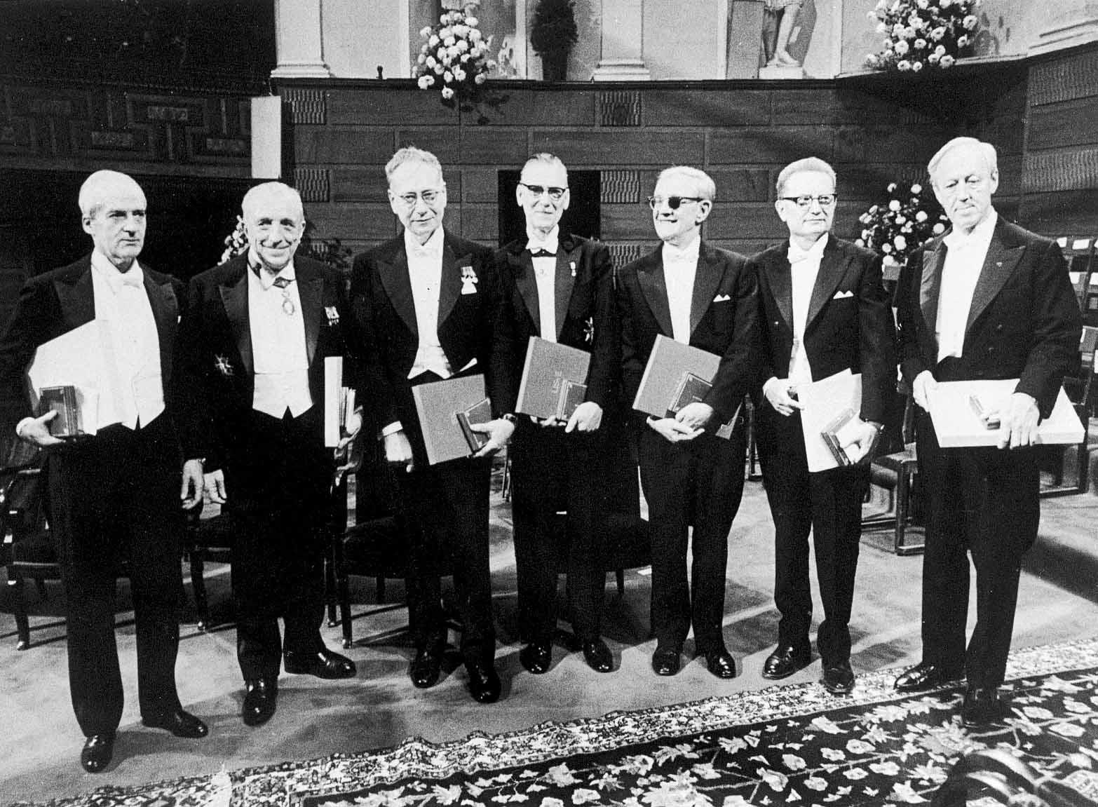 El doctor Luis Federico Leloir obtuvo el Premio Nobel de Química en 1970.