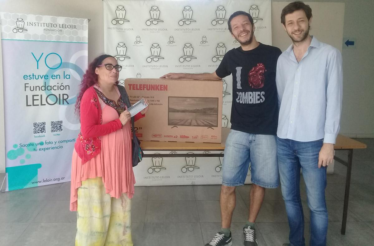 Patricia Delorenzo, ganadora del premio otorgado por el Instituto Leloir en el marco de La Noche de los Museos.