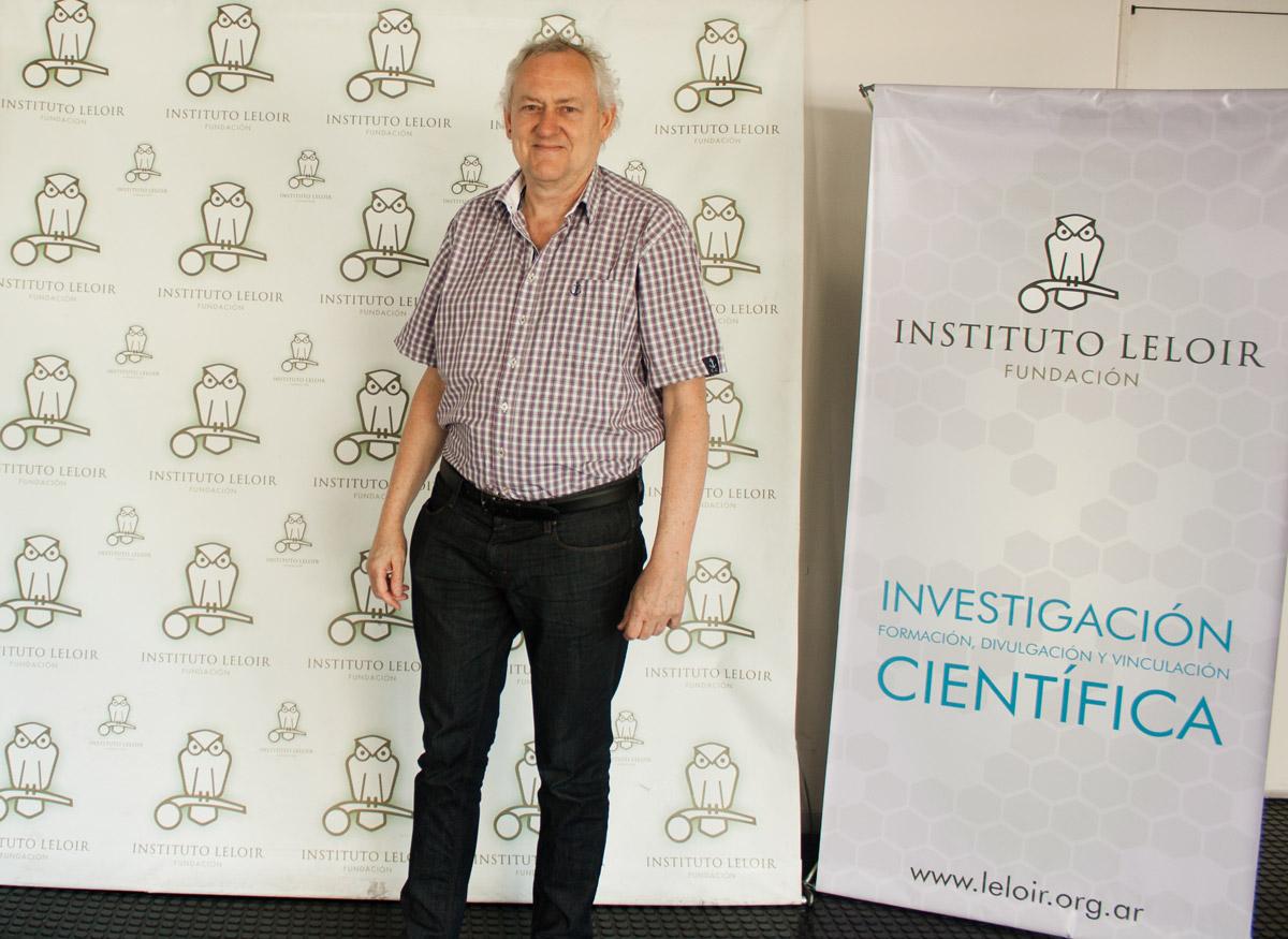 El doctor Toby Gibson, director de la de la Unidad de Biología Computacional y Estructural del Laboratorio Europeo de Biología Molecular, en Heidelberg, Alemania.