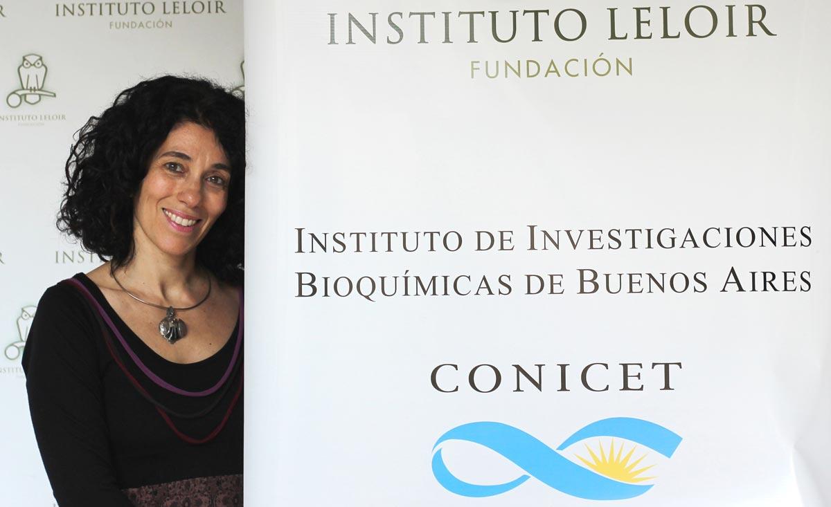 La doctora Fernanda Ceriani, investigadora del CONICET y jefa del Laboratorio de Genética del Comportamiento de la Fundación Instituto Leloir.