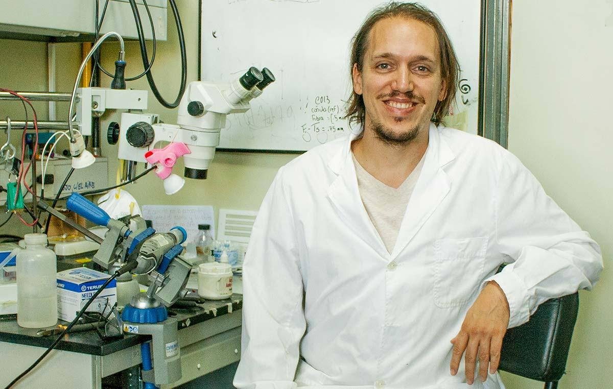 El doctor Emilio Kropff, investigador de la Fundación Instituto Leloir.