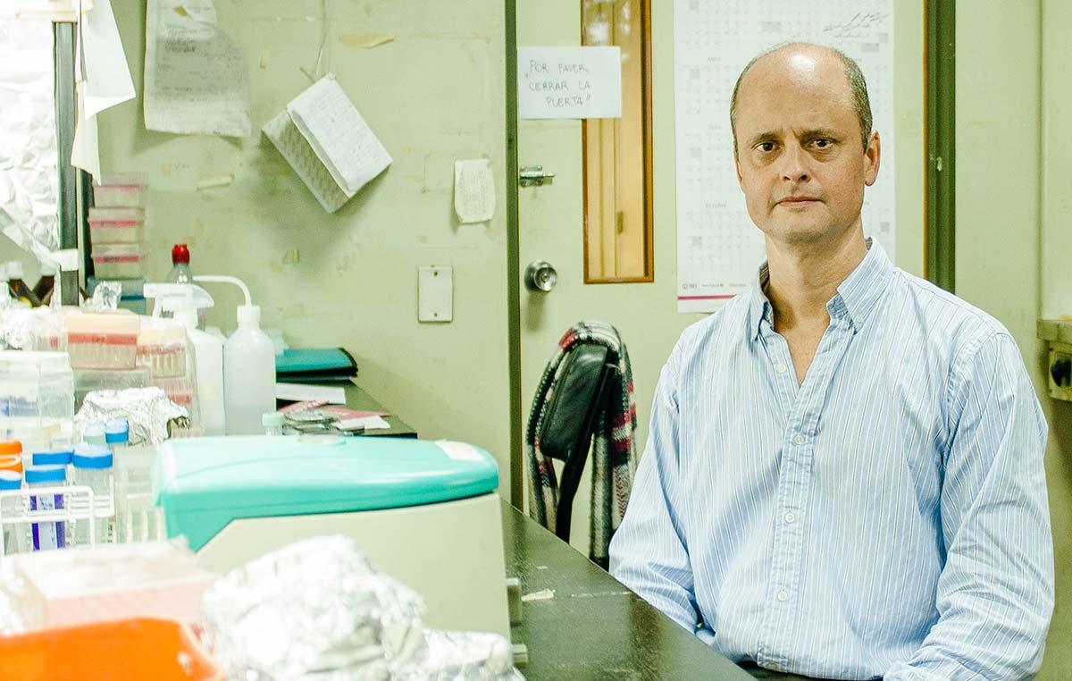 El doctor Pablo Cerdán, jefe del Laboratorio de Biología Molecular de Plantas de la Fundación Instituto Leloir.