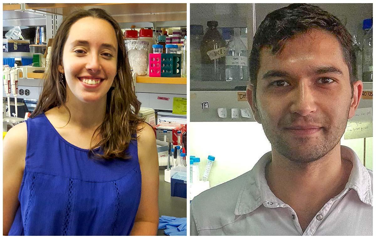 Los doctores Daniela Di Bella y Diego Álvarez fueron seleccionados por el prestigioso Programa de Becarios Latinoamericanos Pew en Ciencias Biomédicas. Realizaron su tesis de doctorado en la Fundación Instituto Leloir.