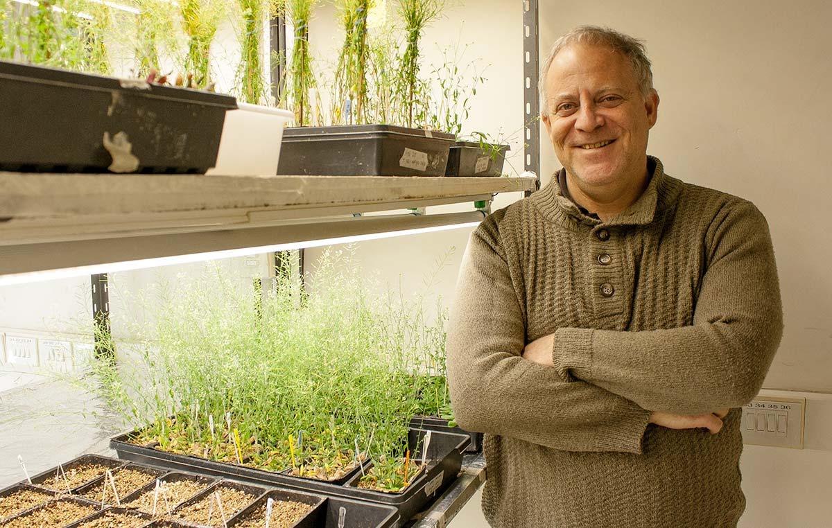 El doctor Marcelo Yanovsky, director del Laboratorio de Genómica Vegetal de la Fundación Instituto Leloir.