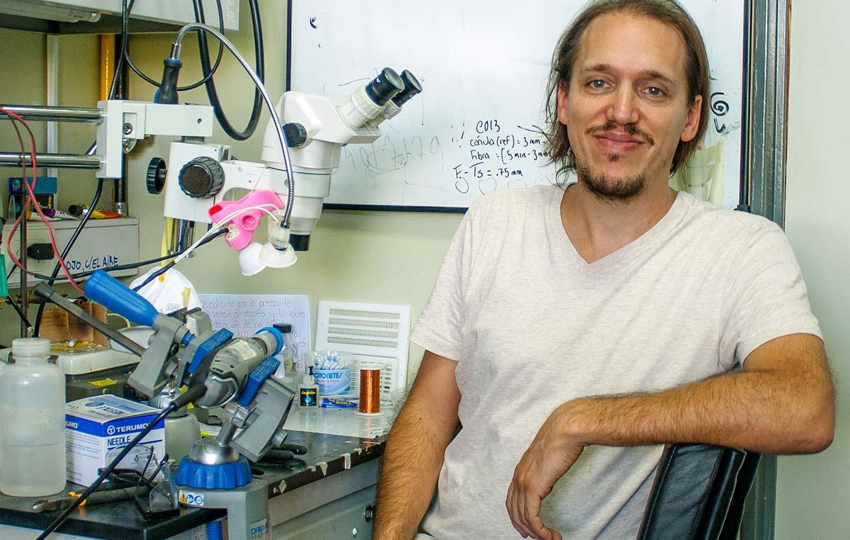 El laboratorio del doctor Emilio Kropff, estudiará los procesos cerebrales involucrados en la percepción del tiempo y del espacio.