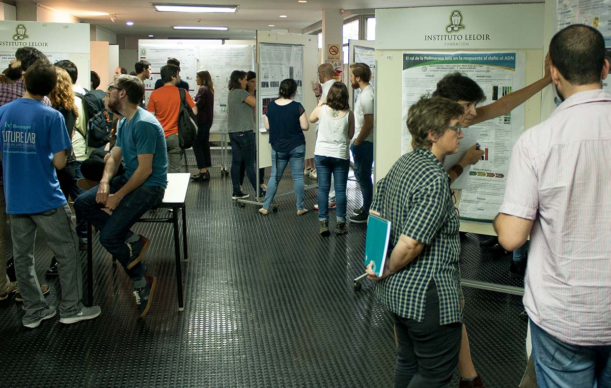 La jornada de ciencia de nuestra fundación contó con 22 charlas y 72 posters que expusieron las principales líneas de investigación y avances realizados por los laboratorios.