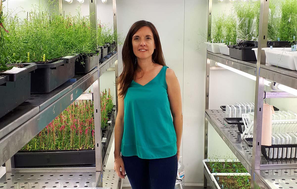 La doctora Silvina Mangano, del grupo de Estévez, también integra el grupo de científicos de nuestra fundación distinguidos por la Sociedad Argentina de Biología.