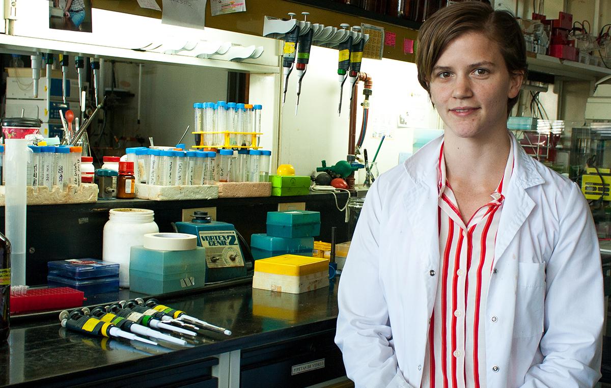 María Soledad Treffinger realiza su doctorado en el Laboratorio de Biología Estructural y Celular que lidera el doctor Julio Caramelo en nuestra fundación.