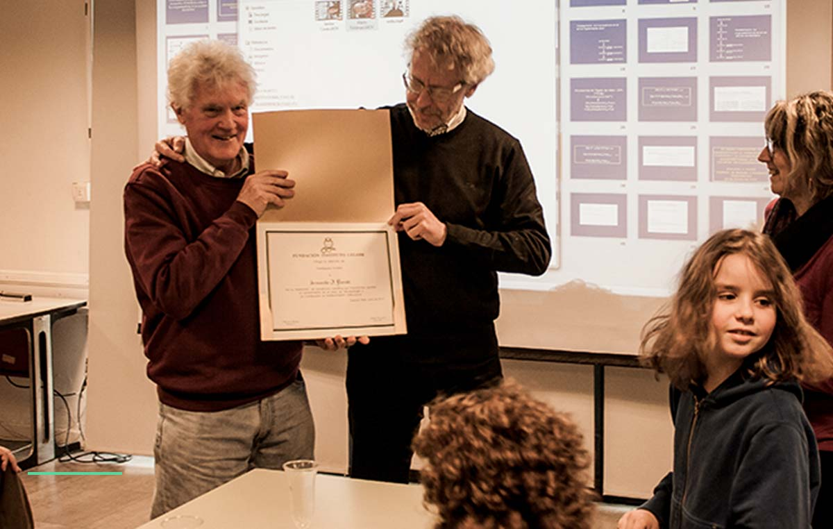 Armando J. Parodi, designado Investigador Emérito de la Fundación Instituto Leloir (FIL) por su importante aporte al fortalecimiento y crecimiento institucional y los nuevos campos de investigación que abrió en el campo de la Glicobiología.