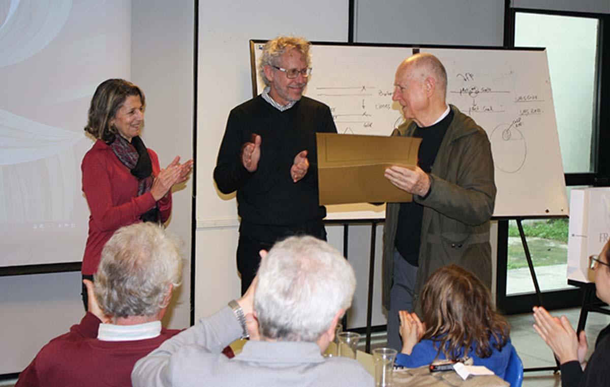Ricardo Wolosiuk, Investigador Emérito de la Fundación Instituto Leloir, también fue distinguido por su importante contribución al crecimiento y fortalecimiento de la institución y su valiosa producción científica en el campo de la biología vegetal.