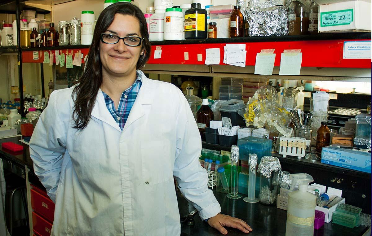 Gabriela Auge, científica del Instituto Leloir, viajó a Japón durante seis meses para realizar estudios en la Organización Nacional de Investigación en Agricultura y Alimentación con sede en Tsukuba, a unos 60 km al norte de Tokio.