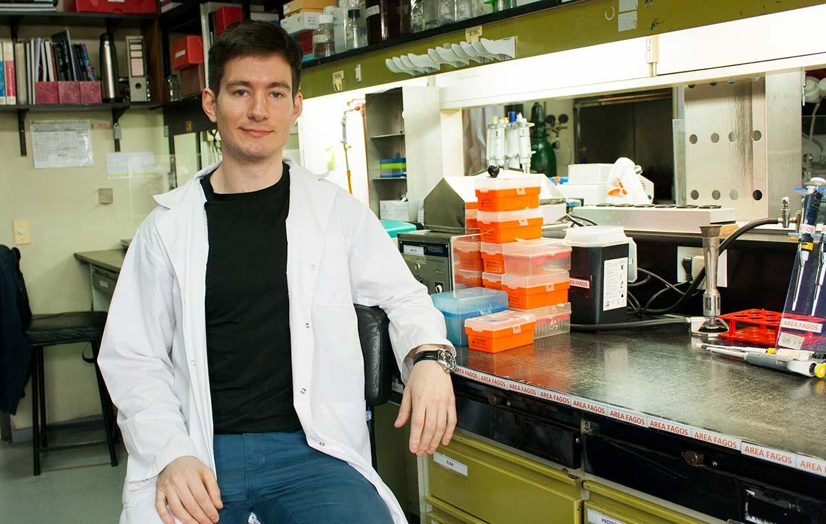 Mauro Heitrich, doctorando de la Fundación Instituto Leloir.
