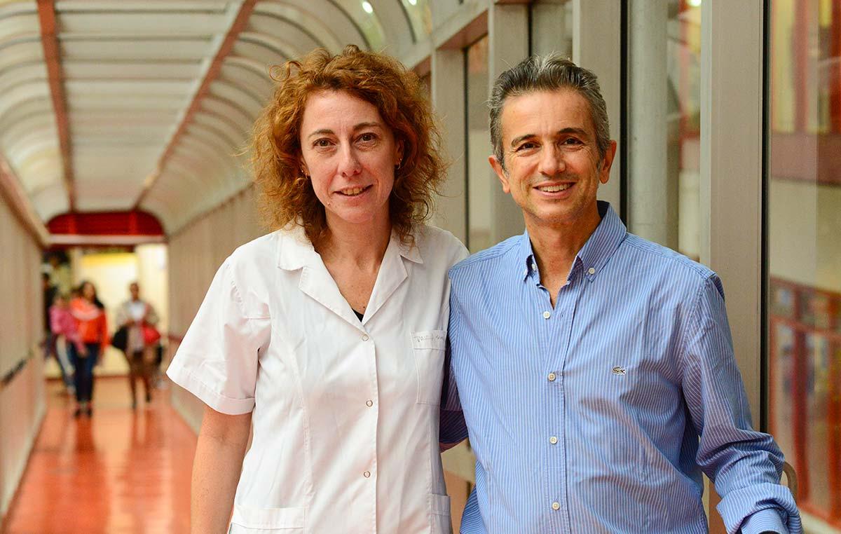 Guillermo Chantada y Paula Schaiquevich, del Hospital de Pediatría Juan P. Garrahan y del CONICET. Créditos: Prensa Hospital Garrahan