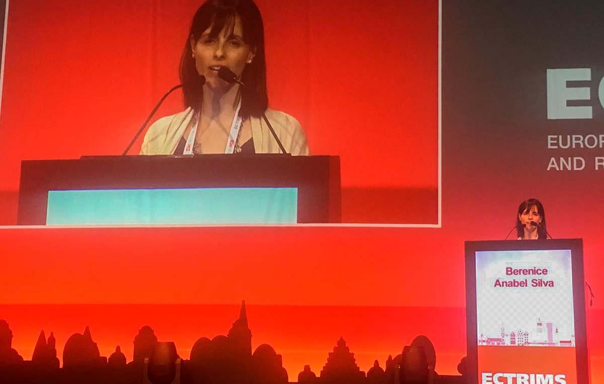 Berenice Silva, médica neuróloga y becaria doctoral de la Fundación René Barón en el Instituto Leloir.