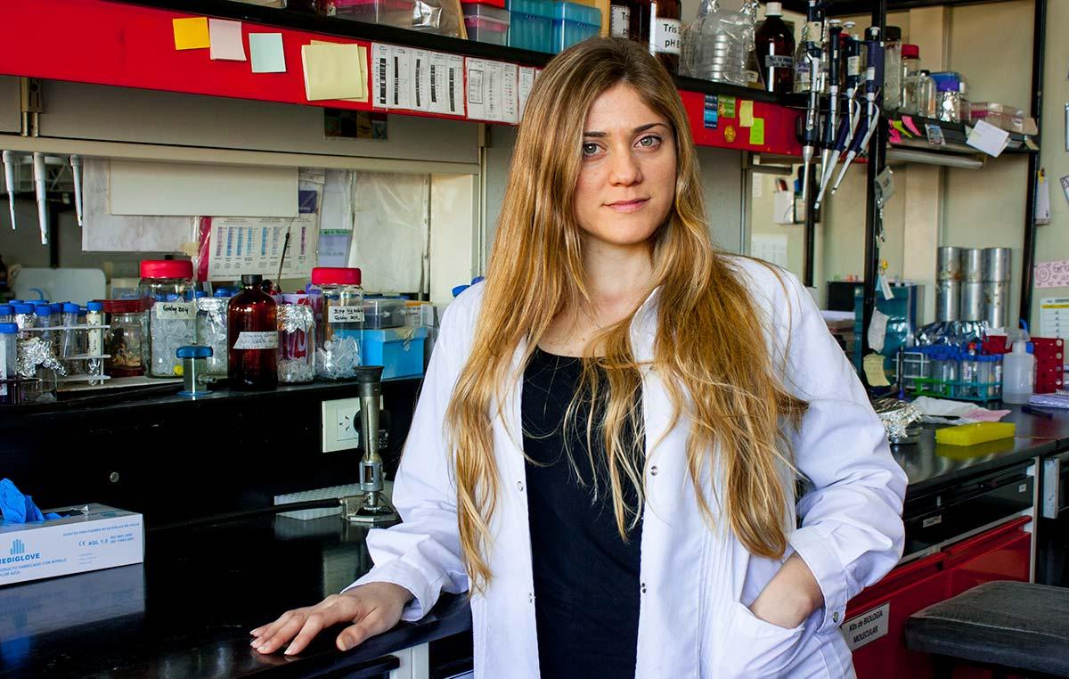 Lila Ramis, doctoranda del Instituto Leloir.