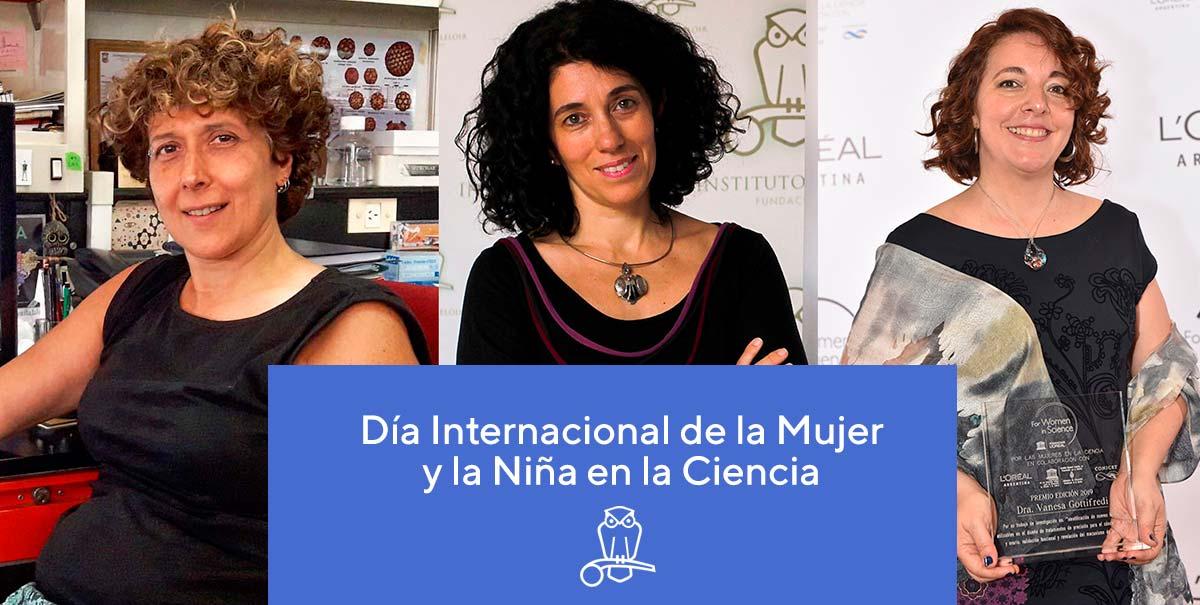 Andrea Gamarnik, Fernanda Ceriani y VanesaGottifredi.