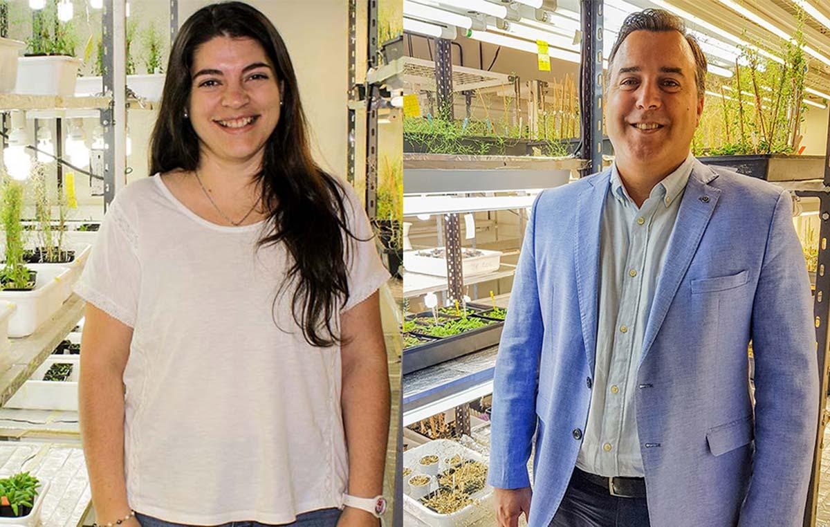 José Manuel Estévez, director del estudio, y Cecilia Borassi, autora principal del trabajo.