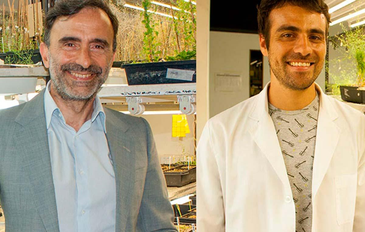 Jorge Casal (izq.) y Germán Murcia, autores del estudio.