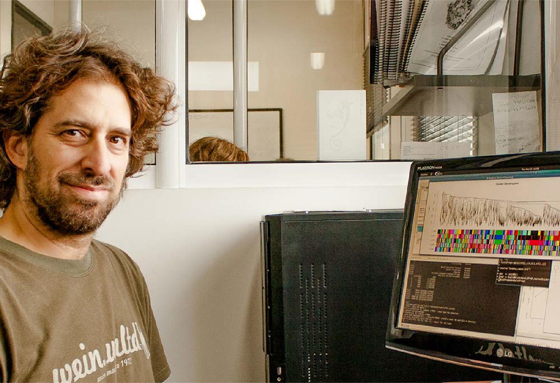 Ariel Chernomoretz, jefe del Laboratorio de Biología de Sistemas Integrativa de la Fundación Instituto Leloir.